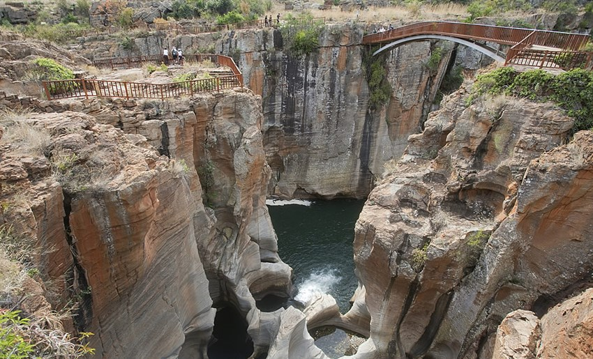 Bourke Luck Potholes puente